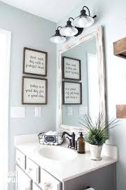 Bathroom Wall Decor Ideas Eye Catching Best For On Rustic In