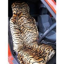 housse grand c4 picasso citroen c4 picasso grande housse de siège fausse fourrure tigre