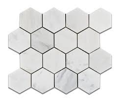 6x6 White Pool Tile by Oriental White Eastern White Marble 3