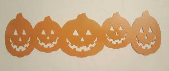 Metal Halloween Yard Stakes by Halloween Pumpkins Metal Wall Art Line Of Pumpkins Halloween
