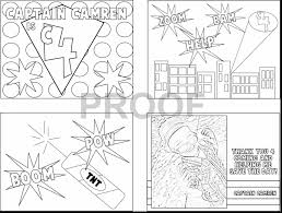 Marvelous Superhero Coloring Book Pages With Super Hero Page