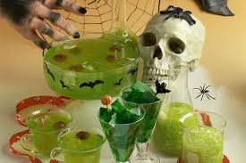 Jello Halloween Molds Instructions by Halloween Punch With A Floating Brain
