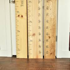 Ruler Growth Chart Kit DIY Project Oversized Wood Ruler Pottery Barn Knockoffs Get The Look For Less In Your Home With Diy Inspired Rustic Growth Chart J Schulman Co 52 Best Children Images On Pinterest Charts S 139 Amazoncom Charts Baby Products Aunt Lisa Rules Twentyphive 6 Foot Wall Ruler Oversized Canvas Wooden Rule Of Thumb Pbk Knockoff Decorum Diyer Dollhouse Bookcase Goodkitchenideasmecom I Made This Kids Knockoff Kids Growth Chart Using A The Happy Yellow House