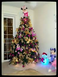 Minnie Mouse Christmas Tree Mickey Themes Decorations For