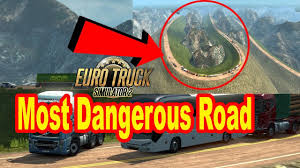 100 Rj Trucking Challenging Road In ETS2 Challenging Overtaking In Mountain Road Map RJ Solution