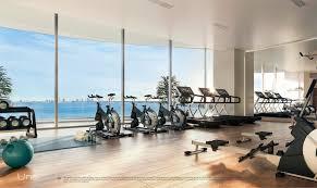100 Four Seasons Miami Gym UNA Residences Brickell For Sale