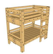 bunk bed plans bed fort plans loft bed plans
