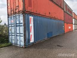 100 Shipping Containers 40 CONTAINER PIEDS_shipping Containers Price R24 764 Pre Owned Containers For Sale