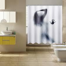 3D Beauty Shadow Waterproof Shower Curtain Bathroom Mildewproof Polyes
