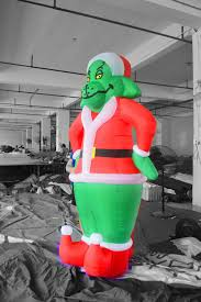 Grinch Blow Up Yard Decoration by Inflatable Grinch Christmas Decorations U2013 Decoration Image Idea