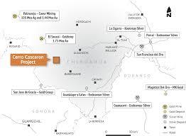100 Where Is Chihuahua Located Cerro Cascaron Evrim Resources Corp