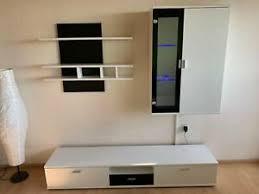 wohnzimmer wand weiss möbel gebraucht kaufen ebay
