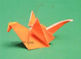 Easy DIY Origami Dragon