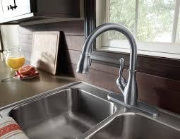 Delta Leland Kitchen Faucet Manual by Elegant Delta Leland Kitchen Faucet Best Kitchen Faucet