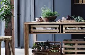 skogsta serie ikea bar table ikea ikea decor bar table