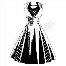 Free Download Clip Art Fashion Vintage Dress Clipart S Antique Images Digital
