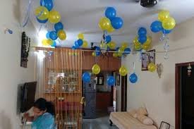 Balloon Decoration At Home Birthday Party Ideas Diy