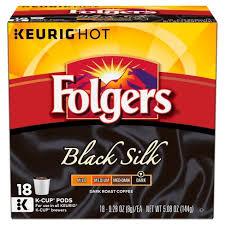 Folgers Gourmet Selections Black Silk Dark Roast Coffee