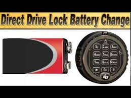Cabelas Gun Safe Battery Replacement by Sargent And Greenleaf Direct Drive Lock Battery Change Youtube