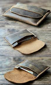 coin purse wallet personalized leather wallet mens leather