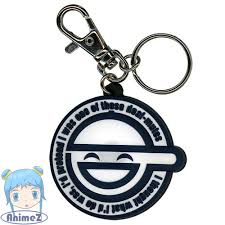 Ghost In The Shell Laughing Man Logo Keyring PVC