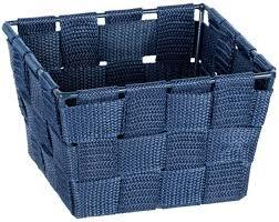 aufbewahrungskorb mini adria19 cm polypropylen petrol blau