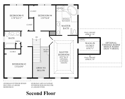 Fischer Homes Yosemite Floor Plan by Penn Land Farm The Montclaire Home Design