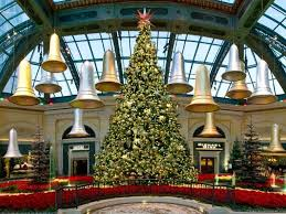 Christmas Tree At Bellagio Conservatory And Botanical Gardens Las