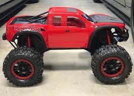 100 Rc Ford Truck 2017 Raptor Custom Painted Body For Traxxas Xmaxx RC Monster