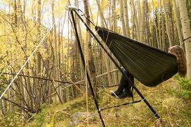 The Lightest & Most Portable Hammock Stand by YOBO hammocks