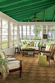 Diy Screened In Porch Decorating Ideas by Porch And Patio Design Inspiration Southern Living