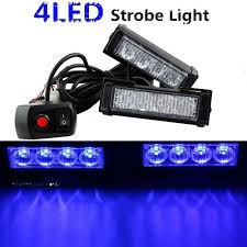 12V 24W 2*4 LED Auto Strobe Lights Police Car Emergency Warning ... 2x Whiteamber 6led 16 Flashing Car Truck Warning Hazard Hqrp 32led Traffic Advisor Emergency Flash Strobe Vehicle Light W Builtin Controller 4 Watt Surface 2016 Ford F150 Adds Led Lights For Fleet Vehicles Led Design Best Blue Strobe Lights For Grill V12 130 Tuning Mod Euro Simulator Trucklite 92846 Black Flange Mount Bulb Replaceable White 130x Ets 2 Mods Truck Simulator Factoryinstalled Will Be Available On Gmcsierra2500hdwhenionledstrobelights Boomer Nashua Plow Ebay