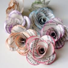DIY Projects For Teenagers Storybook Paper Roses Cool