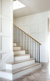 Metal Banister Rail Modern Handrail Designs That Make The ... Cool Stair Railings Simple Image Of White Oak Treads With Banister Colors Railing Stairs And Kitchen Design Model Staircase Wrought Iron Remodel From Handrail The Home Eclectic Modern Spindles Lowes Straight Black Runner Combine Stunning Staircases 61 Styles Ideas And Solutions Diy Network 47 Decoholic Architecture Inspiring Handrails For Beautiful Balusters Design Electoral7com