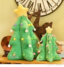 Creative Light Singing Christmas Tree Presents A Stuffed Toy Child For