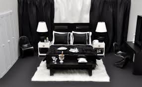 schwarz weiße schlafzimmer design ideen