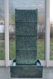 köhko zimmerbrunnen köhko zimmerbrunnen ca 85 cm mit led beleuchtung wasserfall in wellenform für wohnzimmer terrasse und balkon kaufen