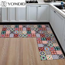 küche matte billiger anti slip moderne teppiche wohnzimmer balkon badezimmer gedruckt teppich fußmatte flur geometrische bad matte
