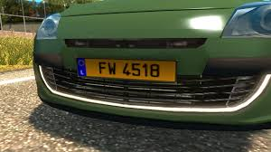 Image - Luxembourg License Plate.png | Truck Simulator Wiki | FANDOM ...