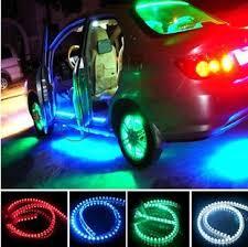 neon pour voiture exterieur 48cm de lumières led universel pour extérieur ou intérieur de la