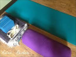 Training Recap Live Run Grow Welcome To Nirvana At Home Om Restorative Yoga Props