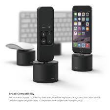 Amazon elago D stand charging station for Apple TV remote