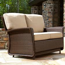 home decor tempting outdoor swivel glider chair to complete