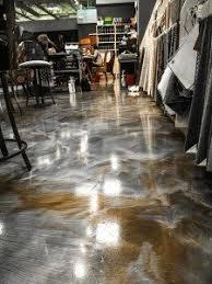 Poured Epoxy Flooring Kitchen by Making A 3d Epoxy Metallic Floor Step By Step Floor Epoxy