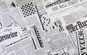 World Newspapers Detail Of With News Information For Newspaper Background Image 30126