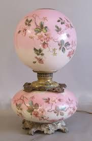 Ebay Antique Lamps Vintage by 29 Best Pink Antique Lamps Images On Pinterest Vintage Lamps