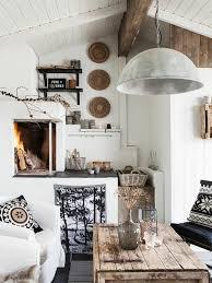 ethno style einrichtung wohnzimmer rustikaler tisch nummer