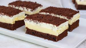 puddingschnitten schoko vanille schnitten cook bakery