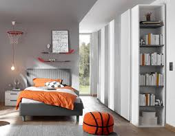 schlafzimmer freli grau weiß inkl regal