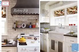Renovation Style Magazine Press Kitchen Design Decor National